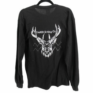 Catskill Clothing Co Long Sleeve Deer Tee T Shirt